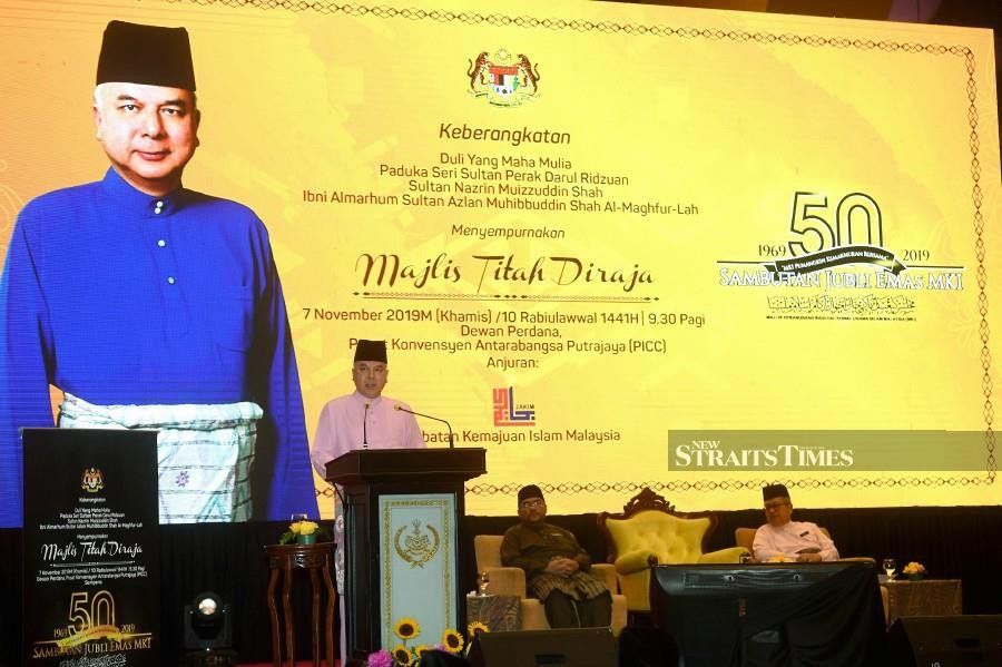 Sultan Nazrin: Good upbringing vital in understanding right from wrong