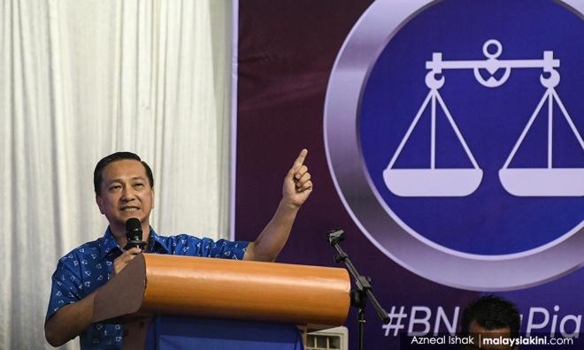 细数团结党种族主义,黄日升吁用选票拒马哈迪