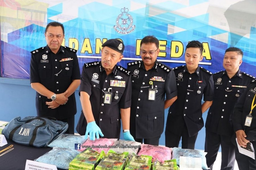 警捣破贩毒集团 捕7人起176万毒品