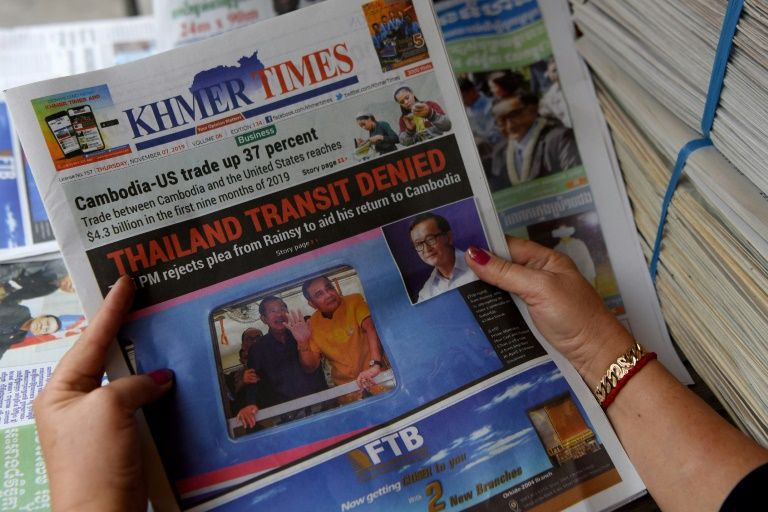 Malaysia detains cambodian opposition figure