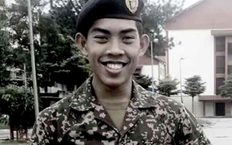Court hears how cadet cried out when iron was placed against him