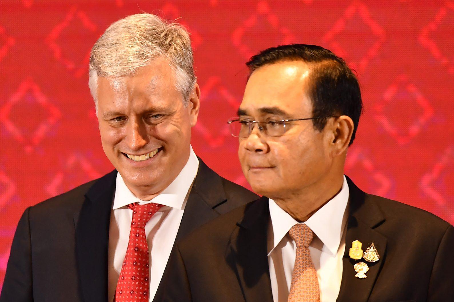 US delivers 'partial snub' at ASEAN summit