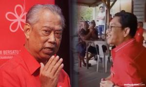 Muhyiddin believes MB was sharing personal experience
