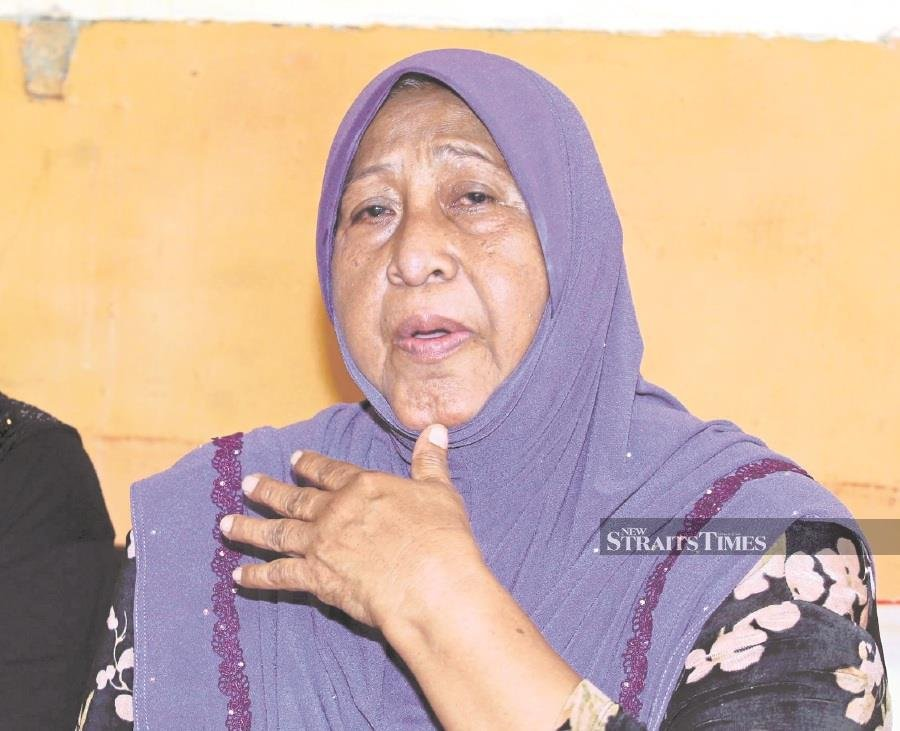 Late MP's mum recalls son's big plans for Tg Piai
