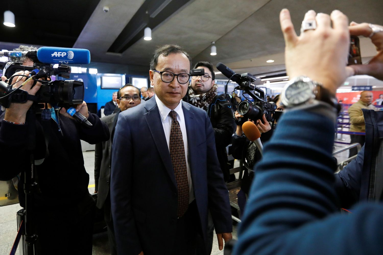Sam Rainsy detained in Malaysia