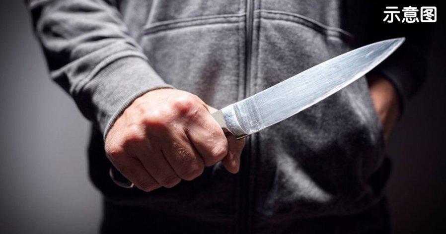 遭丈夫持刀刺伤 孕妻忍痛赴院求助
