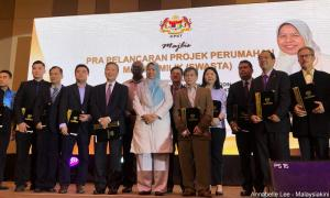 Zuraida commends 'loyal citizen' developers for building affordable homes