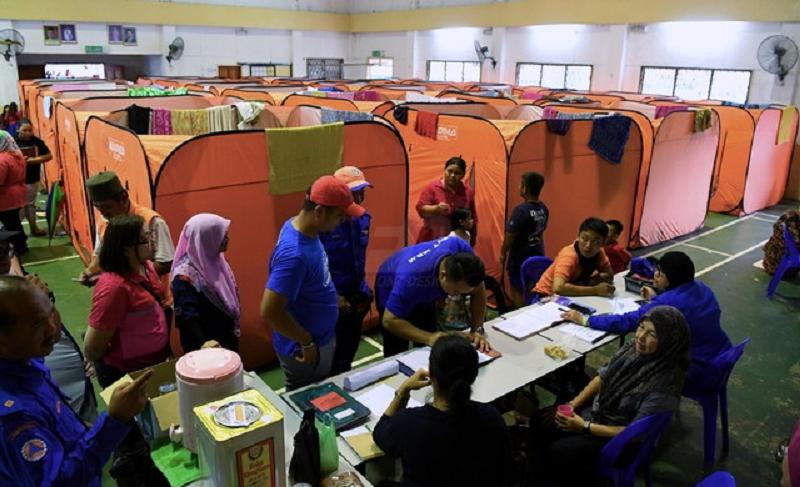 All flood victims at Dewan Selagon PPS in Sabah return home