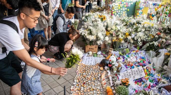 科大学生坠楼逝世 校内中国生怕遇袭逃离港