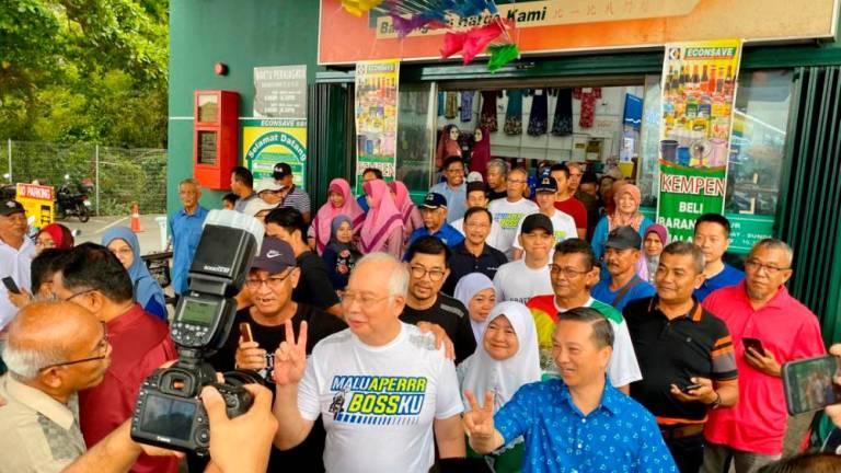 No outriders, no problem, says Najib