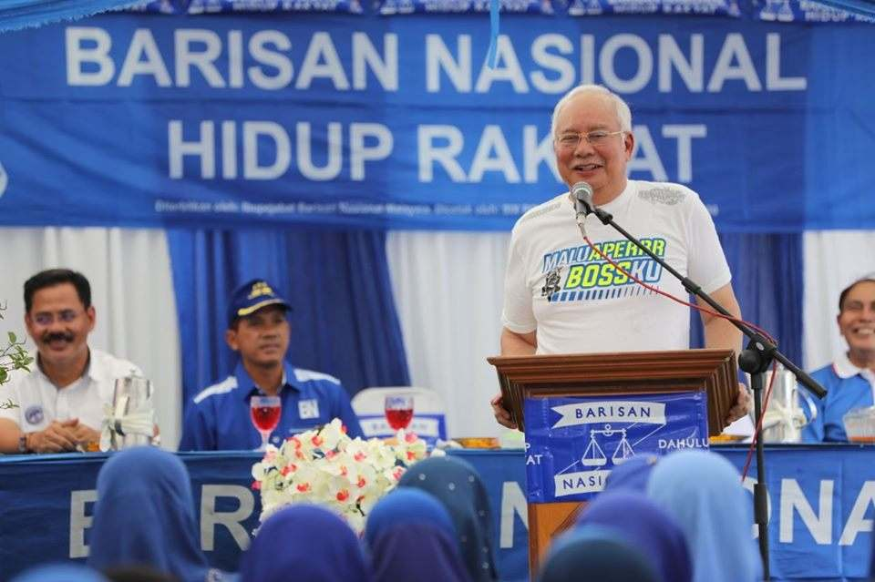 Kit Siang: Najib in Tanjung Piai not for residents but to claim innocence in 1MDB