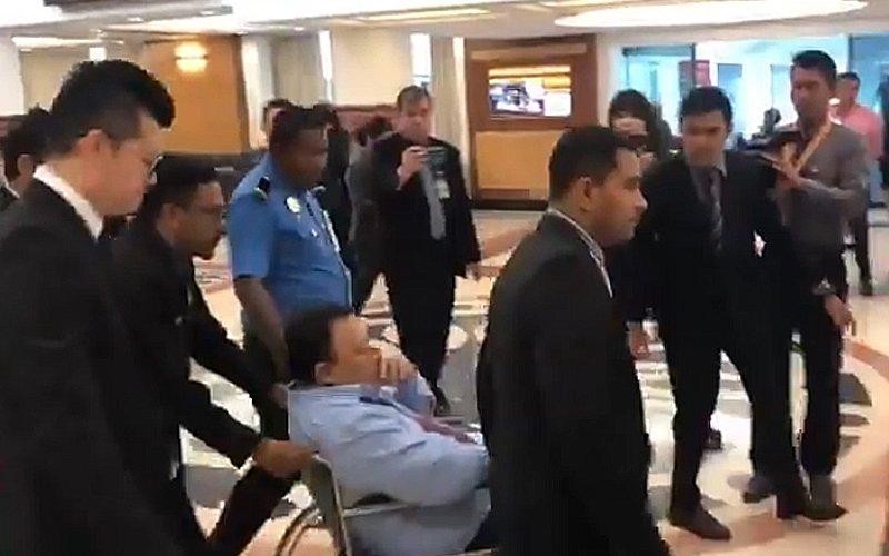 Dewan proceedings halted as MP faints