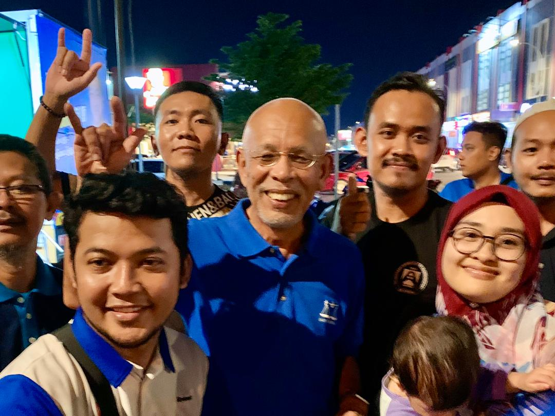 Voters only heeding call for democratic change, Shahrir says of BN's 'popularity' in Tg Piai