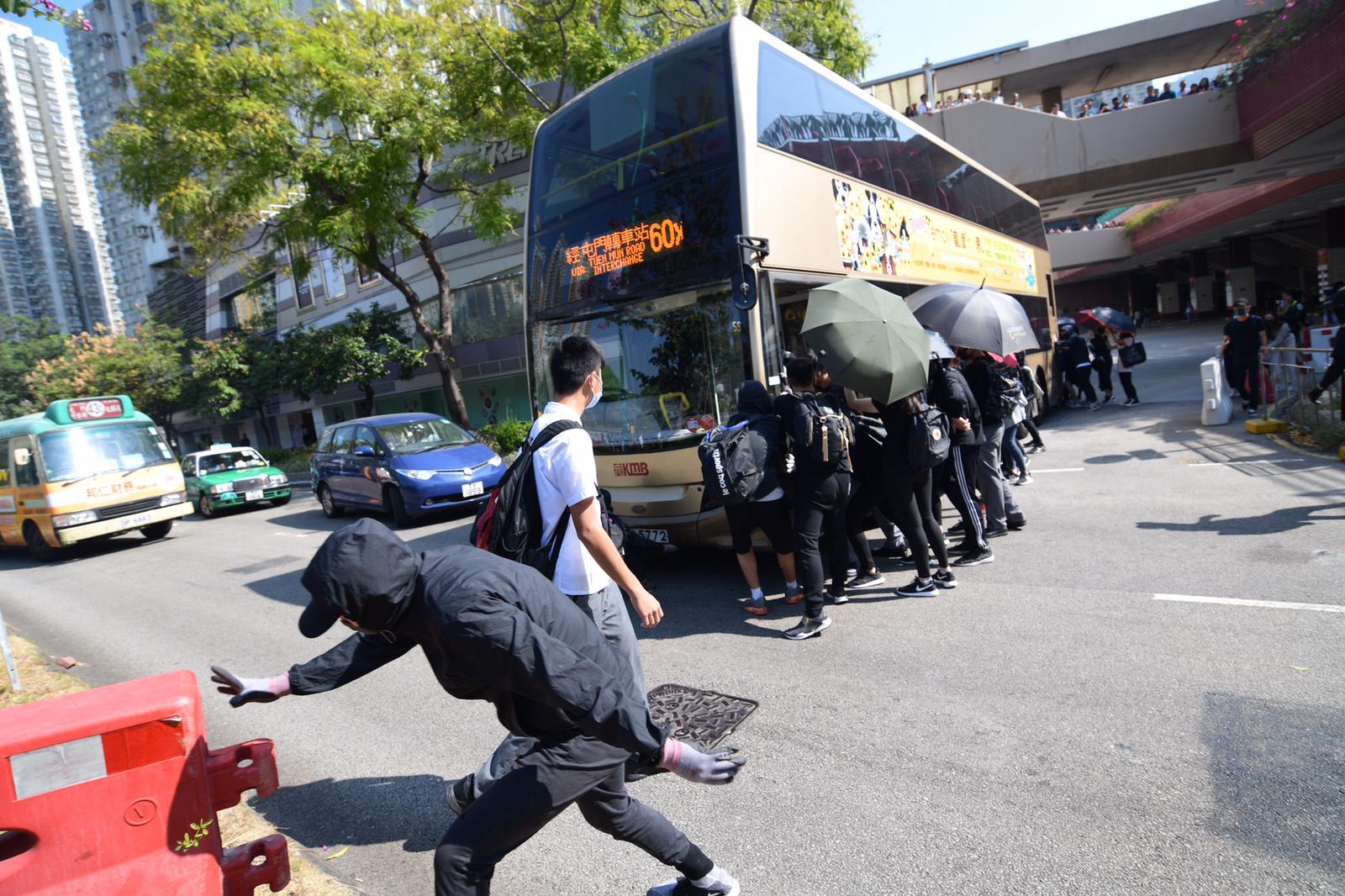 【大三罢】针对阻教师上班堵路 教联会严厉谴责