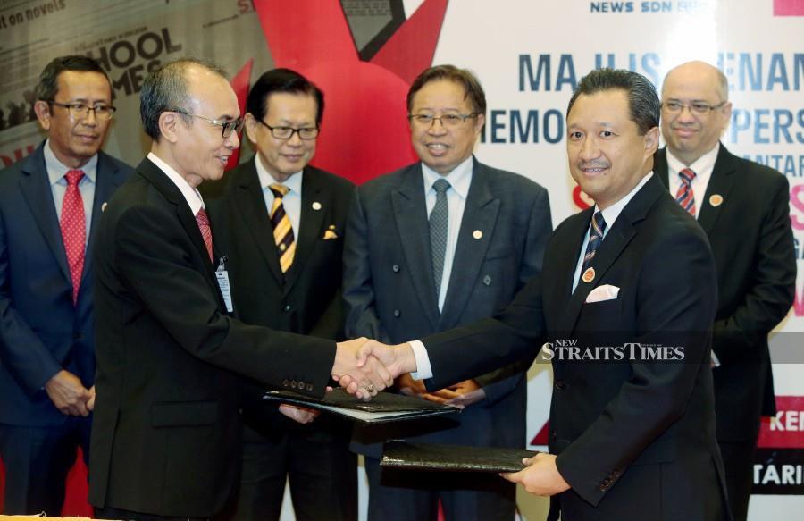 Media Prima, SV News ink MoU to enhance media content in Sarawak