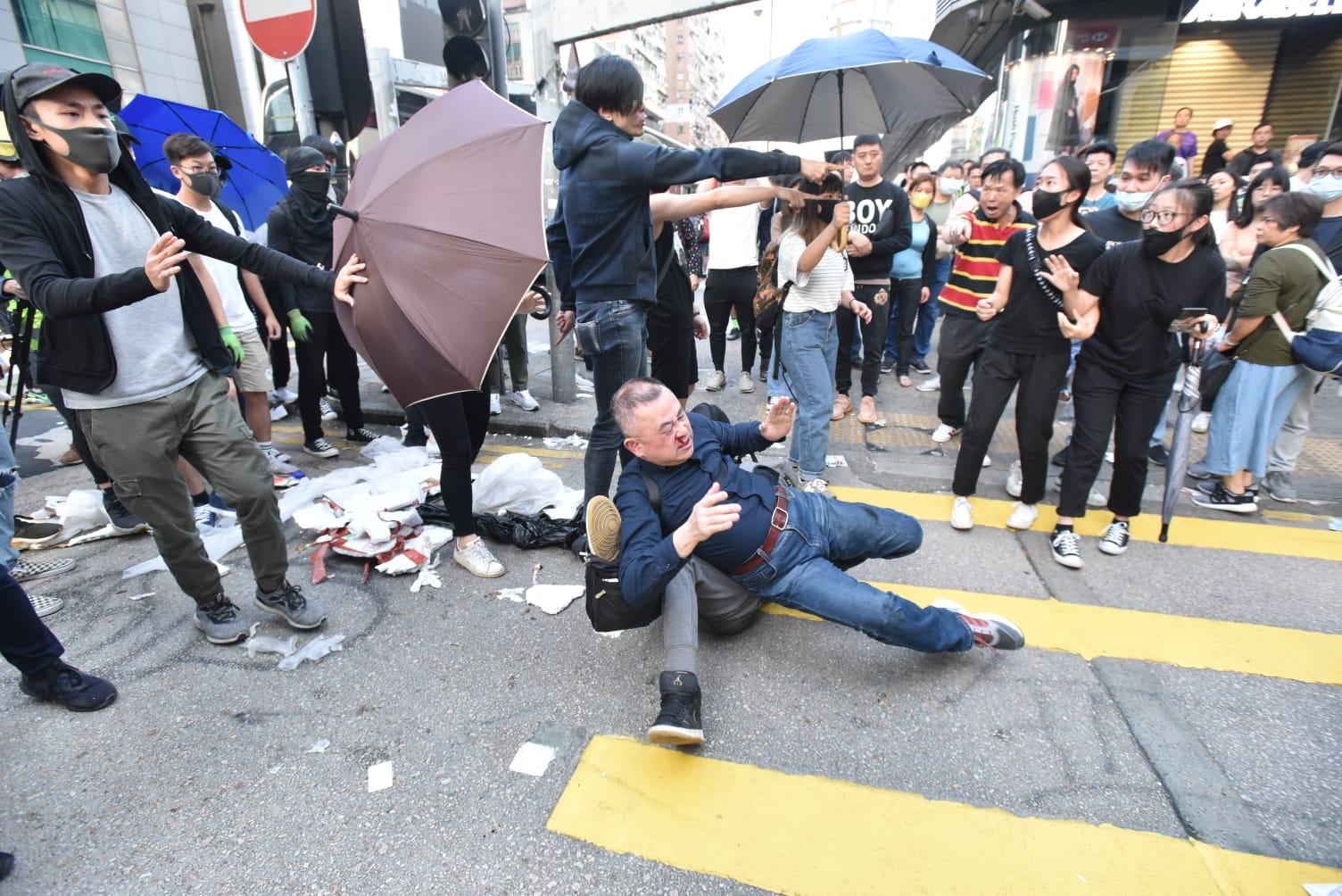 日外务大臣确认:50多岁日籍男子旺角遇袭受伤