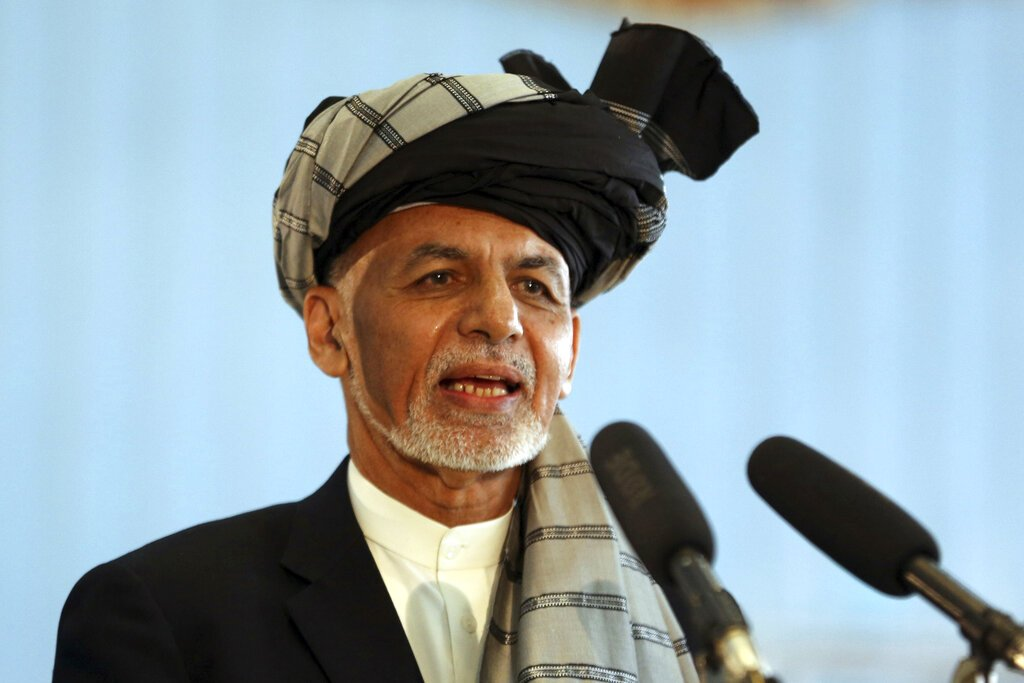 Afghan's Ghani rejects releasing Taliban prisoners in US deal