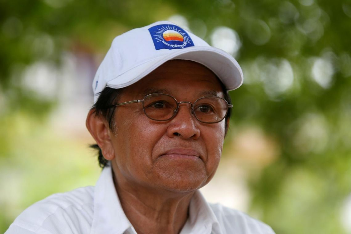 Cambodian opposition leader Kem Sokha meets French ambassador after house arrest lifted