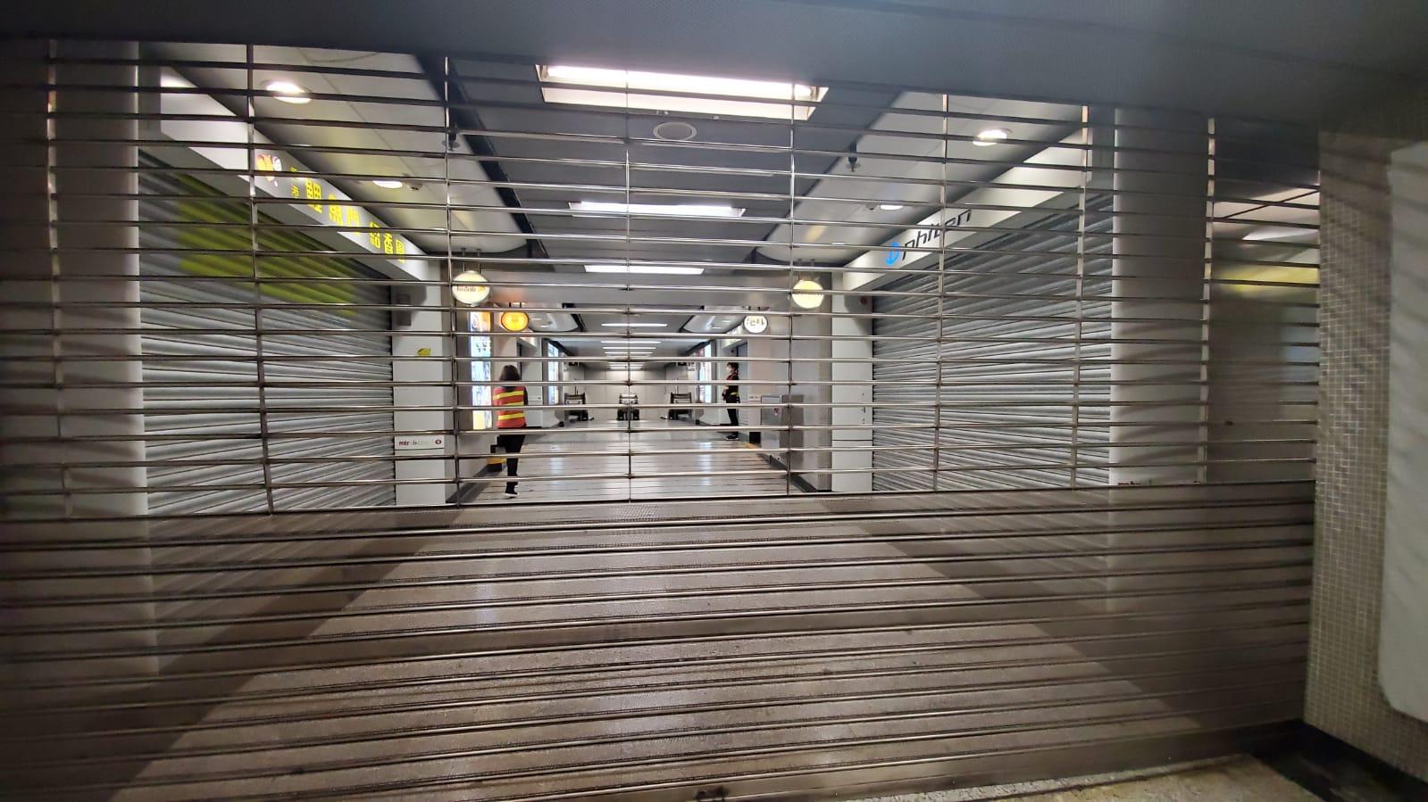 【大三罢】东铁粉岭站至罗湖落马洲停驶 旺角等12站晚上9时关闭