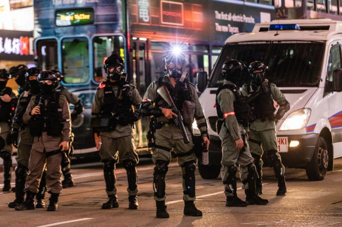 The Hong Kong police gunshot that unleashed a day of mayhem