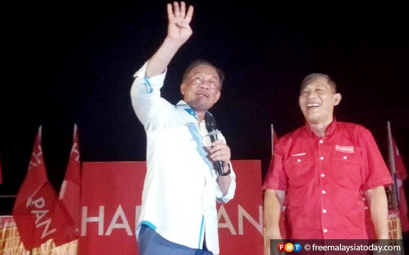 Smaller crowds don't mean low support, says Anwar