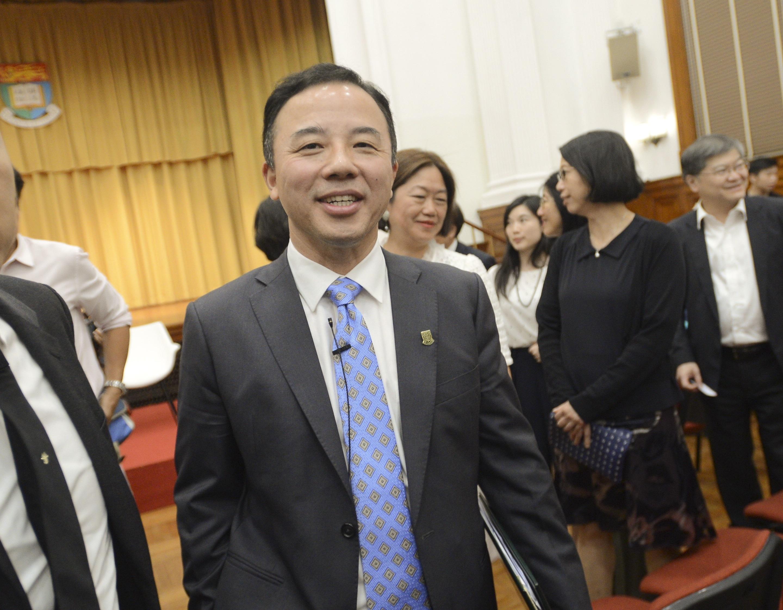 张翔去信警务处长关注学生被捕 称警方接报案进港大