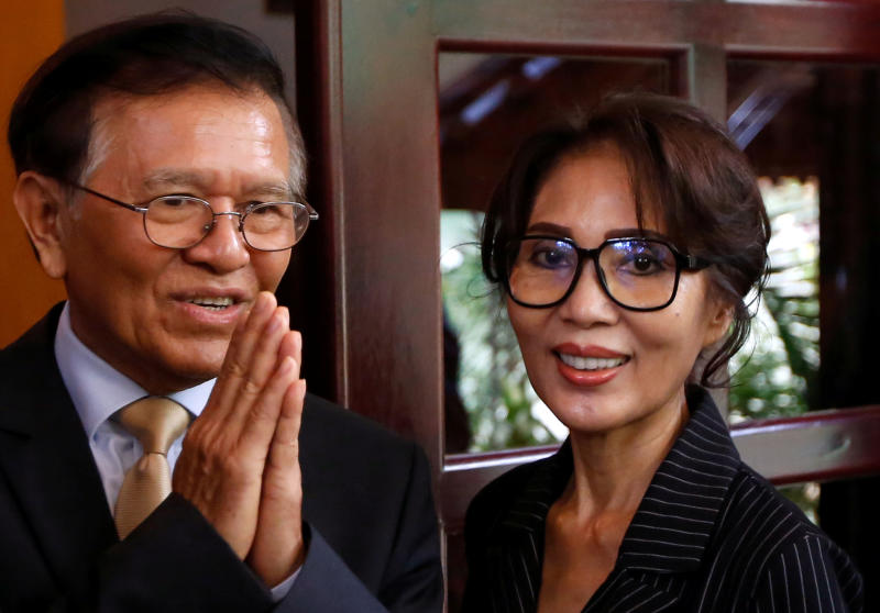 Kem Sokha meets French envoy after house arrest lifted