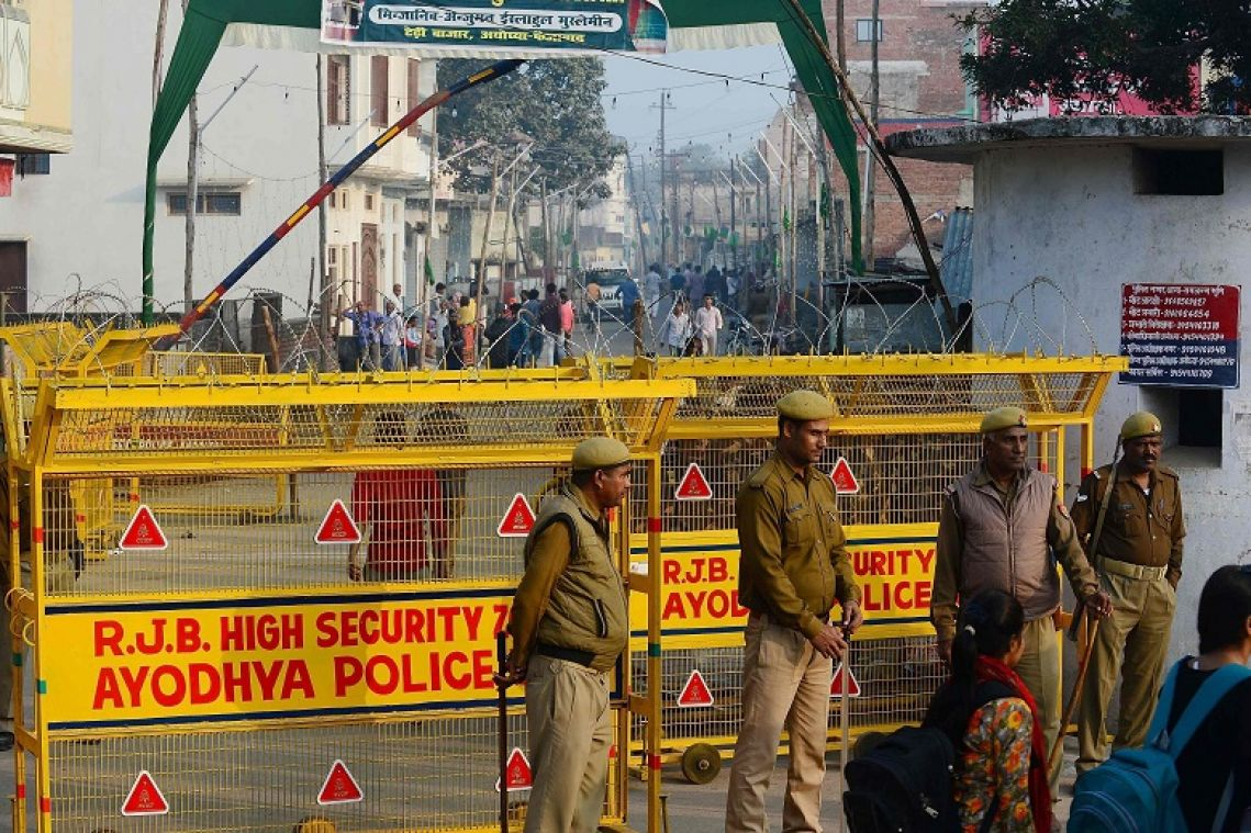 Ayodhya dispute: Security tight ahead of India court ruling on holy site