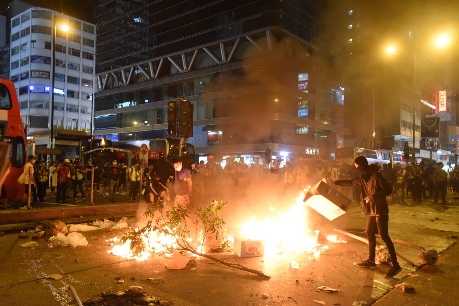 美专家劝香港示威者勿过高期望人权法案致铤而走险