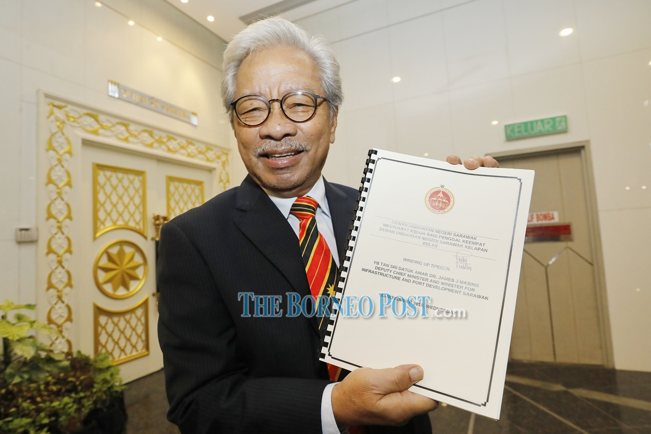 'Sarawak first' rural transformation initiatives to be intensified, says Masing