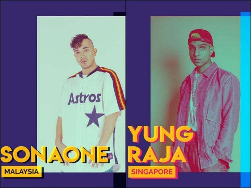 SonaOne, Alif, Yung Raja and Fariz Jabba to headline URBN.SENI's opening