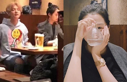 Lu Han and Guan Xiaotong Spotted in Japan