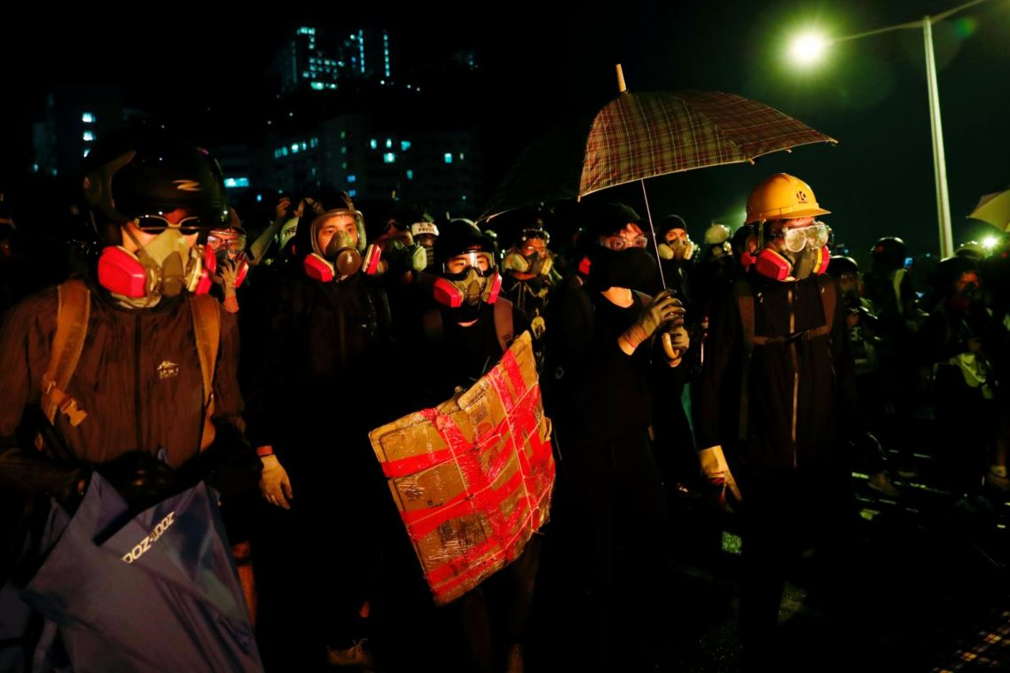 Hong Kong election looms as new flashpoint amid escalating protest violence