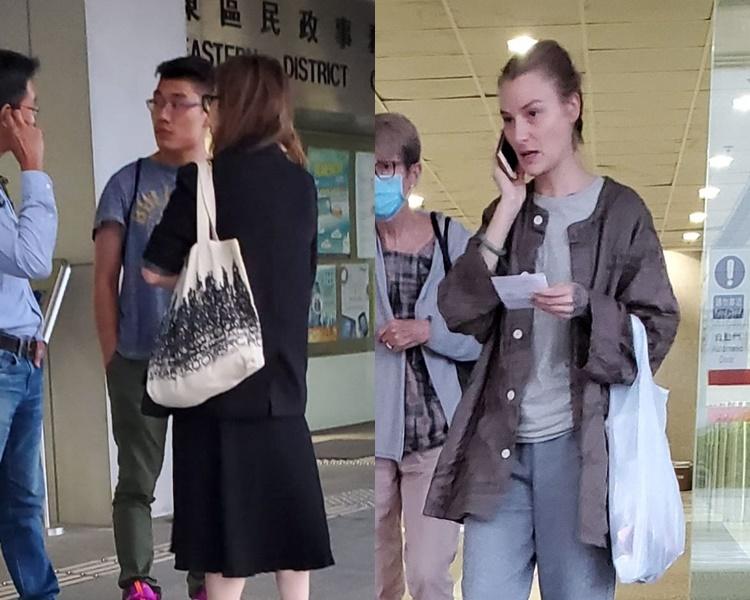 【大三罢】澳籍女教师等5人涉掟砖藏武器 4人准保释守宵禁令