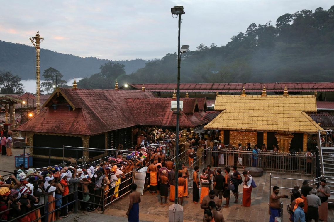 India's top court to review order lifting ban on women entering Hindu temple