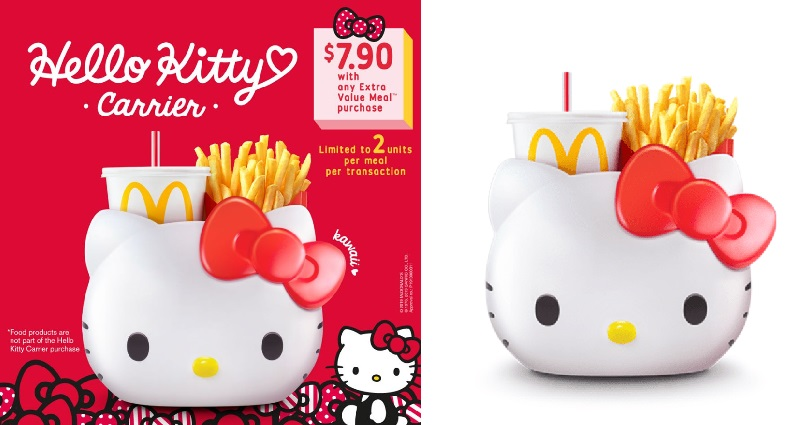 Hello Kitty Meals Are Coming to McDonald's Singapore