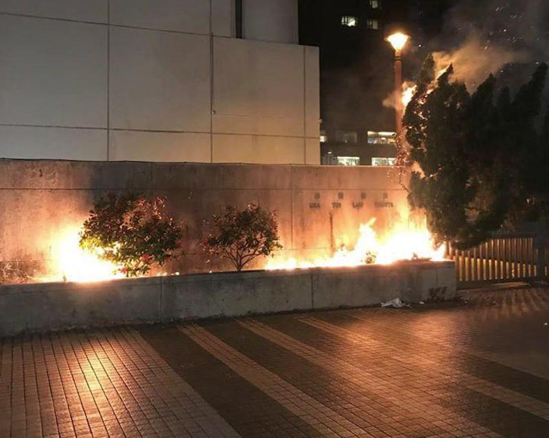 【大三罢】谴责有人纵火破坏沙田法院 大律师公会:对法治作最严厉侮蔑及挑战