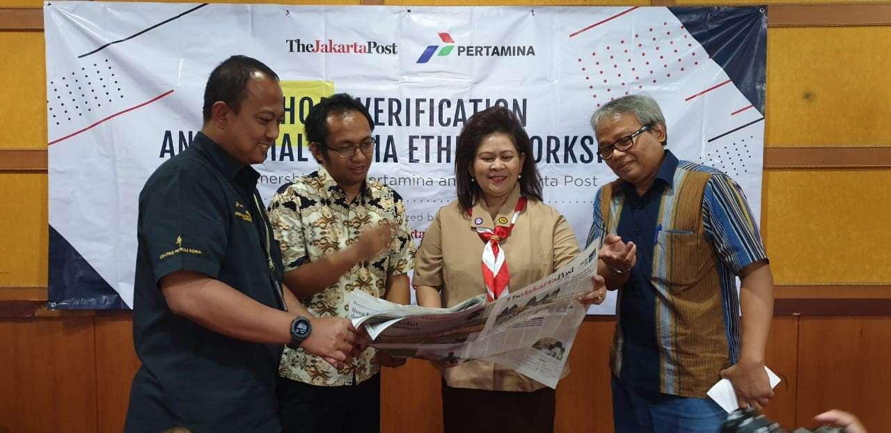 Pertamina, 'Jakarta Post' team up for digital proficiency campaign