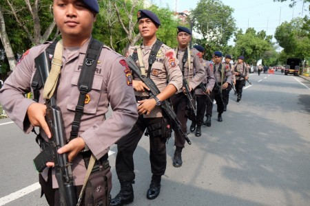 Two suspected terrorists killed, one policeman injured in exchange of fire in North Sumatra