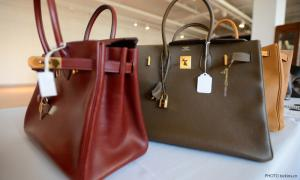 Cops nab four suspected robbers, 81 Hermes handbags recovered