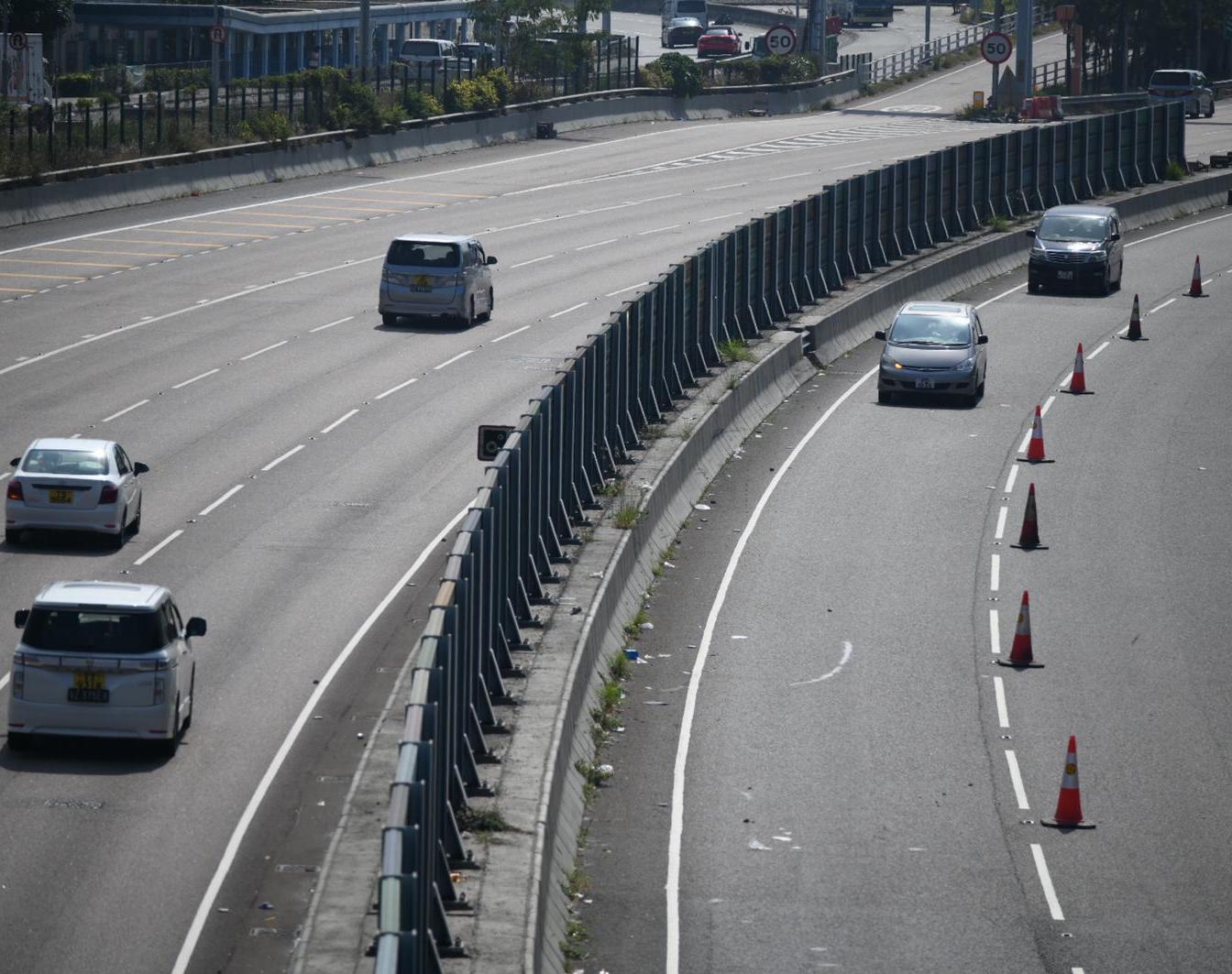 【大三罢】不认同开放部分吐露港公路行车缐是释善意 警:玩野的非警方而是暴徒