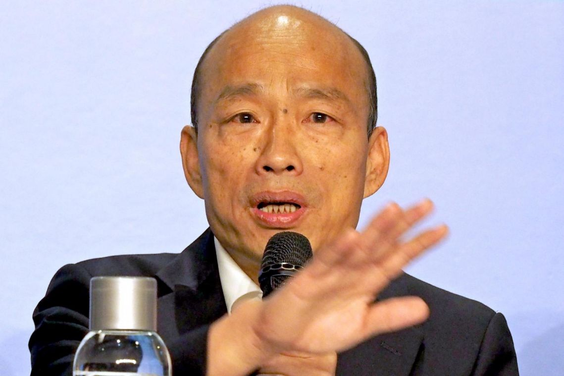Taiwan opposition candidate Han Kuo-yu calls for return to 'one China' formula