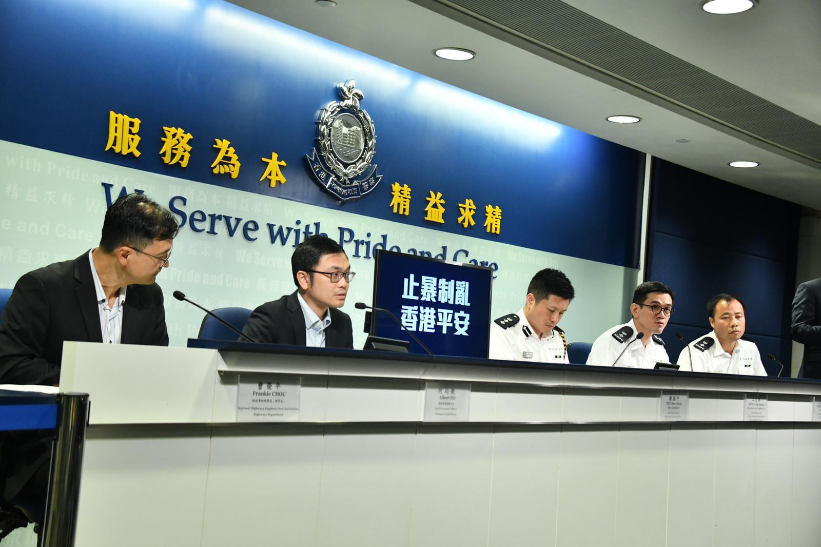 警:惩教员已宣誓为特务警察 执勤时穿惩教制服