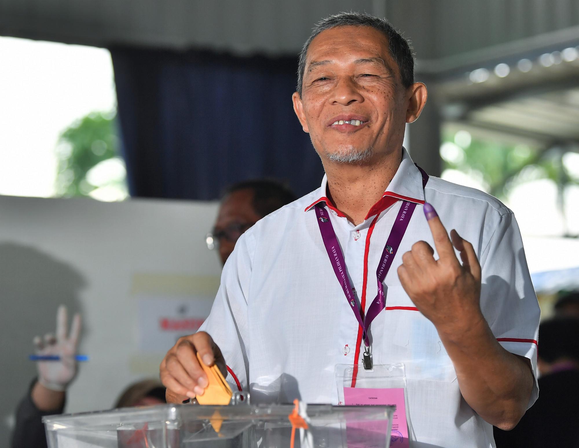 【丹绒比艾补选】笨珍出现投票人潮 当地民众居多游子人少