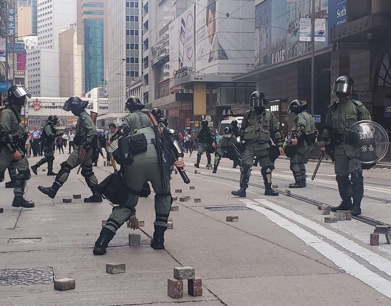 【大三罢】监警会前秘书长朱敏健:不认同警队现已失控