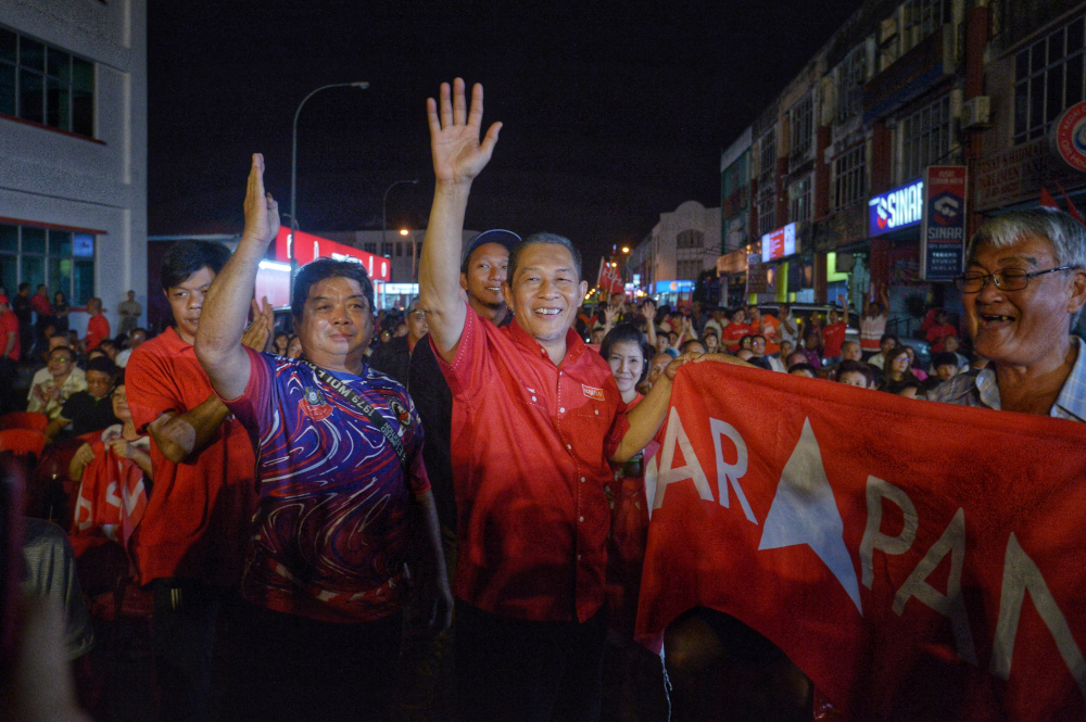 Vote Pakatan to fight against racial inflaming, Chin Tong tells Tanjung Piai voters