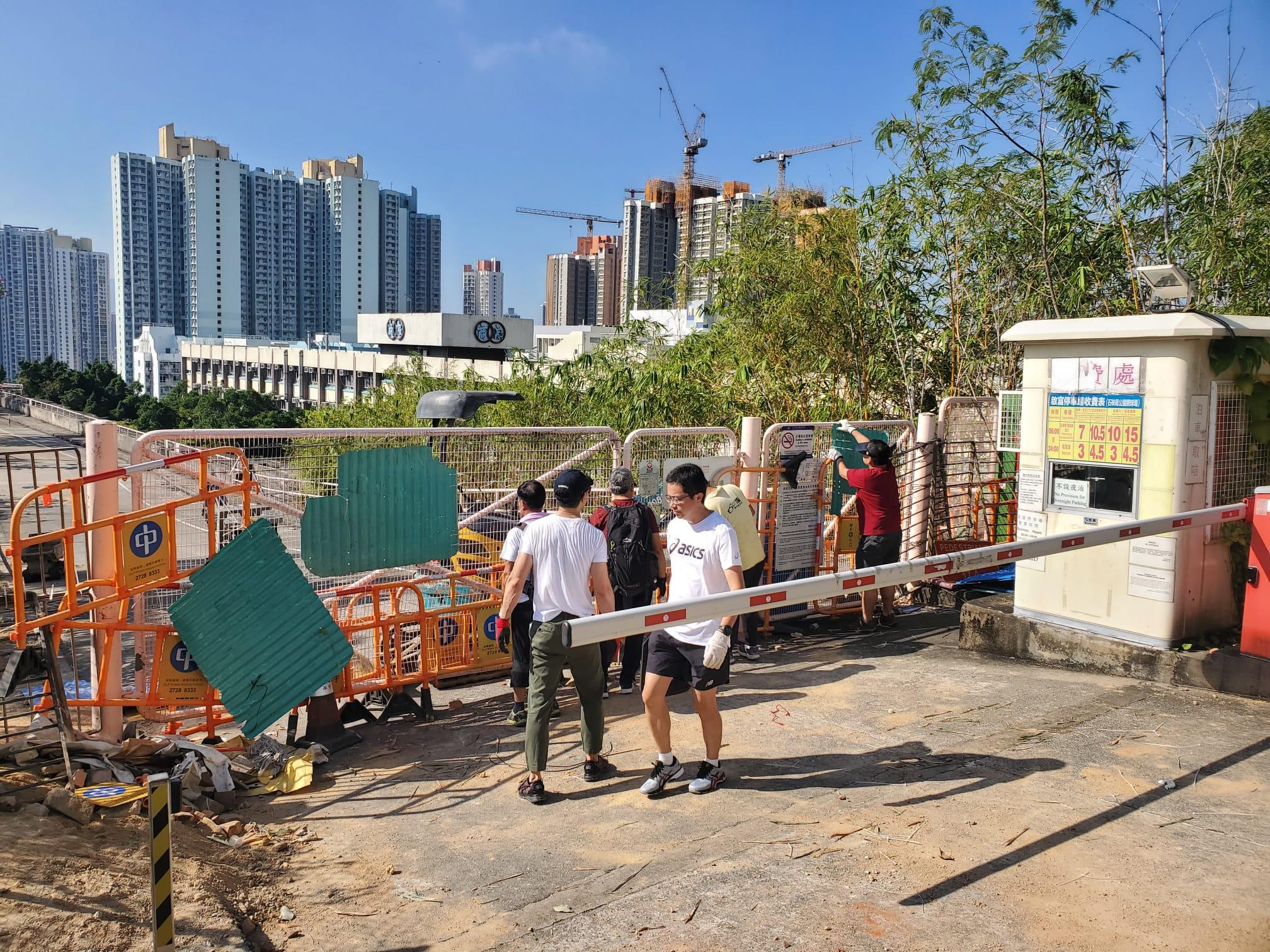 【修例风波】九龙塘发现可疑铁箱 警证实无炸弹