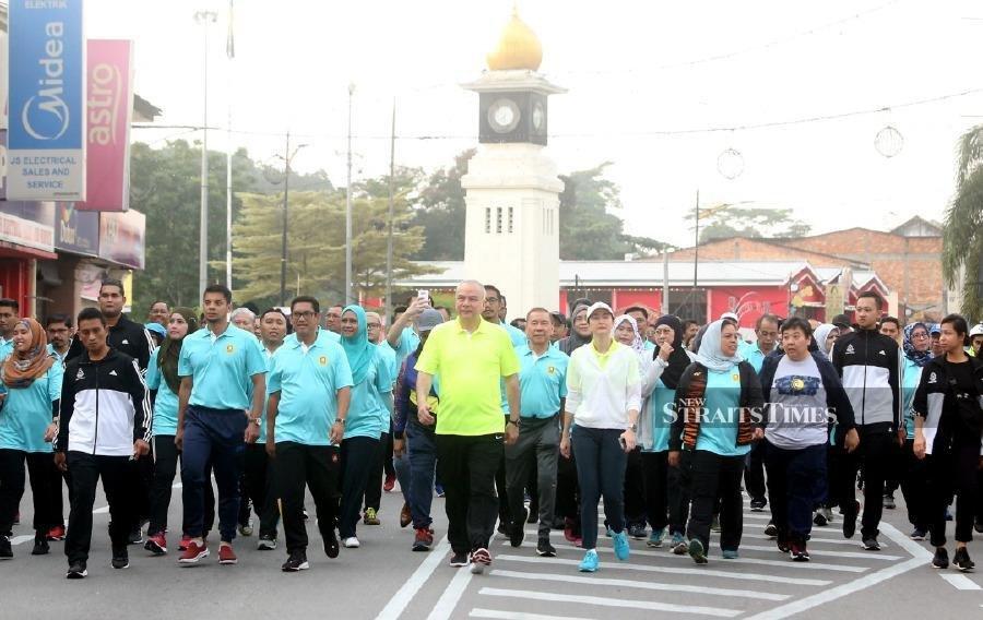 Sultan Nazrin joins thousands in birthday run