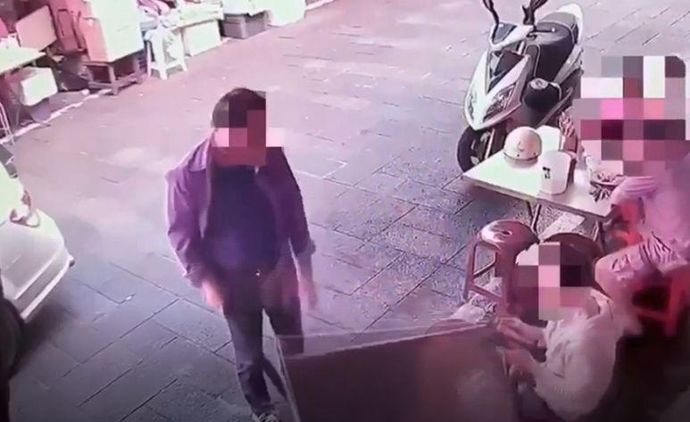 债主委託黑帮到小食店砸店泼尿 警新竹拘捕4人