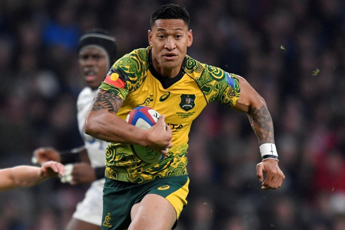 Sacked rugby star Folau claims Australia bush fires 'God's judgment' for gay marriage